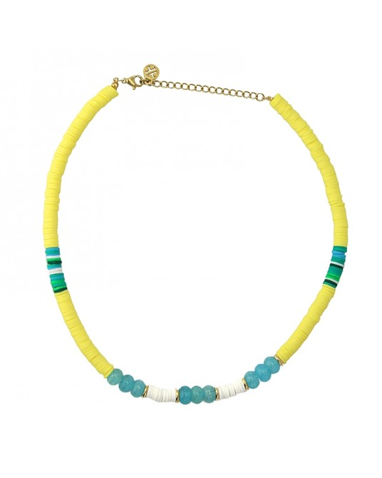 COLLAR HEISHI AMARILLO ANARTXY